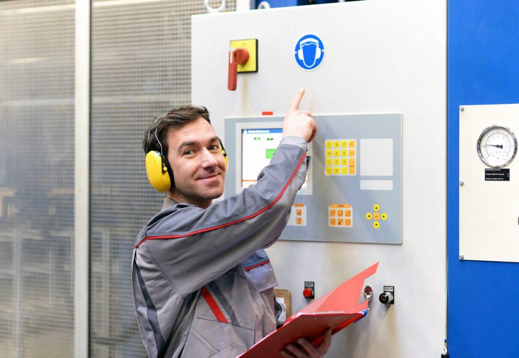 Arbeitsanweisung: Gehörschutz am Arbeitsplatz