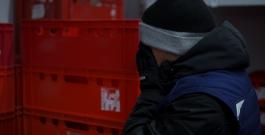 Arbeiten in Kälte
