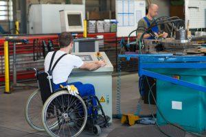 Unterweisung von Mitarbeitern mit Behinderung