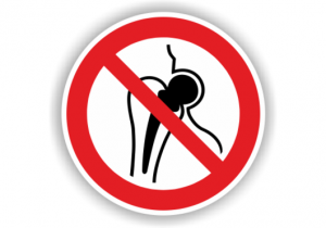 Piktogramme. Kein Zutritt für Personen mit Implantaten aus Metall.